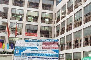 Trường trung cấp nghề quận Bình Thạnh tự cho thuê phòng dạy thêm
