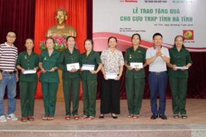Tập đoàn Tân Hiệp Phát tri ân cựu thanh niên xung phong Nghệ An, Hà Tĩnh