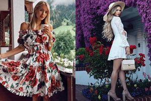 Instagram tuần qua: Các fashionista đồng loạt hóa thân thành những quý cô 'bánh bèo'