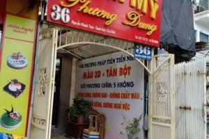 Vụ thẩm mỹ Phương Dung: Phòng Y Tế quận Cầu Giấy, TP. Hà Nội lên tiếng
