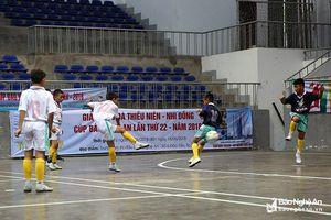 'Vua phá lưới' Cúp Báo Nghệ An lập hattrick đưa U11 SLNA vào chung kết
