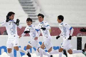 Olympic Uzbekistan mang sang Việt Nam cầu thủ hay nhất U23 Châu Á