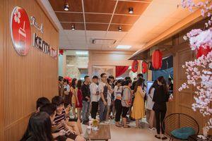 Teen Phú Thọ xếp hàng dài để thưởng thức trà sữa KENTA TEA