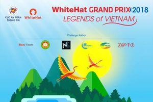 Cuộc thi An toàn không gian mạng toàn cầu 2018 có chủ đề 'Truyền thuyết Việt Nam – Legends of Vietnam'