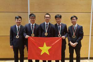 Học sinh Việt Nam tiếp tục đoạt Huy chương vàng Olympic Vật lý quốc tế năm 2018
