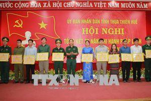 Thừa Thiên - Huế thực hiện tốt công tác bảo vệ chủ quyền, an ninh biên giới
