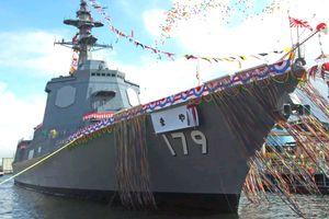 Nhật Bản hạ thủy tàu khu trục thế hệ mới