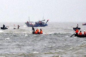 Tích cực tìm kiếm thuyền viên 69 tuổi mất tích trong đêm