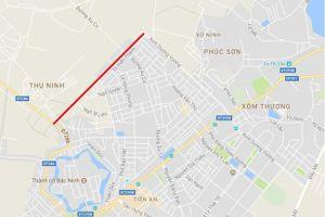 Báo cáo Thủ tướng việc 'đổi 100ha đất lấy 1,39km đường' trước 1/9