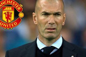 NÓNG: M.U nhắm HLV Zidane thay thế Mourinho