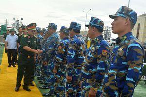 Đoàn công tác Bộ Quốc phòng kiểm tra công tác sẵn sàng chiến đấu tại Hà Tĩnh