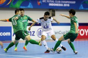 Thái Sơn Nam hủy diệt đội bóng Hàn Quốc 10-1 ở giải châu lục