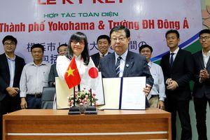 ĐH Đông Á: Cung ứng nhân lực Điều dưỡng cho thành phố Yokohama
