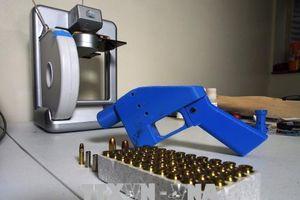 Tòa án Mỹ ngăn việc công bố thiết kế súng in 3D