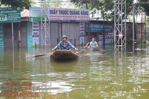 Huy động 145 máy bơm tiêu cho vùng ngập tại Hà Nội