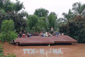 Tiếp tục hỗ trợ nhân dân Lào khắc phục hậu quả sự cố vỡ đập thủy điện
