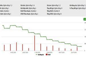 Cổ phiếu PIV bị hủy niêm yết trên HNX từ ngày 30/8 tới