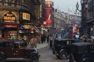 Những bức ảnh màu hiếm hoi về vẻ đẹp London những năm 1940s