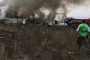 Mexico: Máy bay chở 101 người rơi, không ai thiệt mạng