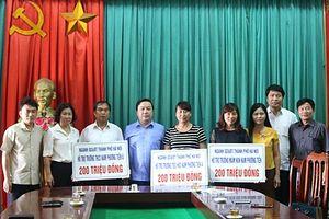 Ngành GD&ĐT Hà Nội hỗ trợ 1 tỷ đồng cho 5 trường bị úng ngập