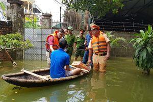 Không có hộ dân vùng ngập lụt bị đói, thiếu nước uống