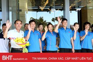 Các đội tuyển đầu tiên có mặt tại Hà Tĩnh dự VTV Cup 2018