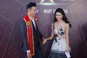 Hoa hậu Thu Ngân tái xuất rạng ngời bên Miss Global