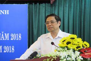 Ông Phạm Minh Chính: Công tác tổ chức, cán bộ không tốt dễ gây 'phản ứng domino'