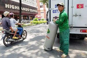 Từ 7g sáng nay giá gas tăng thêm 917 đồng/kg