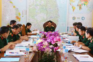 Bộ Tổng tham mưu kiểm tra tại Sư đoàn Bộ binh 2