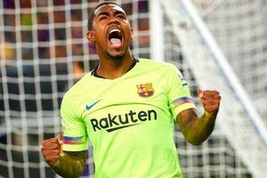 Tân binh tỏa sáng, Barca vẫn thua ngược Roma 2-4