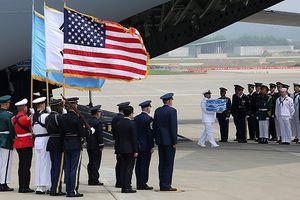 Mỹ: Số hài cốt Triều Tiên trao trả nhiều khả năng là người Mỹ