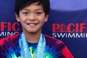 Cậu bé 10 tuổi phá kỷ lục tồn tại 23 năm của siêu kình ngư Michael Phelps