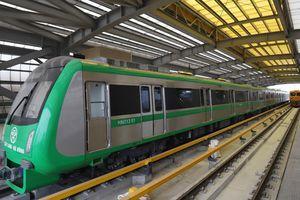 Đường sắt đô thị Cát Linh - Hà Đông chạy thử toàn tuyến