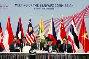 ASEAN ghi nhận 'quan ngại' về biển Đông