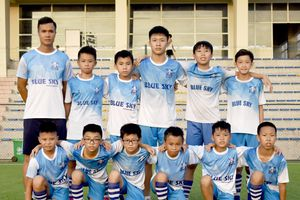 U12 Blue Sky đại diện Việt Nam tham dự giải đấu Quốc tế - Pease Cup 2018