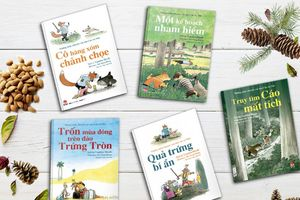 Bộ truyện đồng thoại dễ thương dành cho trẻ mới biết đọc