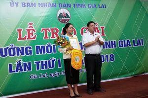 Trao tặng giải thưởng Môi trường tỉnh Gia Lai lần thứ I năm 2018