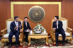 Bộ trưởng Trần Hồng Hà làm việc với Tập đoàn công nghệ đa quốc gia Dell Technologies
