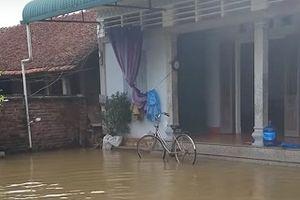 Vận hành 44 trạm bơm và 145 máy bơm tiêu cho vùng ngập tại Hà Nội