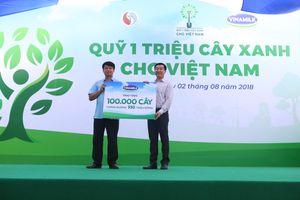 Quỹ 1 triệu cây xanh cho Việt Nam trồng 100.000 cây xanh tại Bắc Kạn