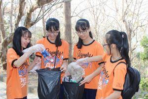 Học sinh Vũng Tàu tích cực tham gia bảo vệ môi trường