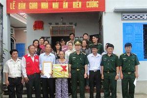 BĐBP Khánh Hòa: Bàn giao 2 căn nhà 'Mái ấm biên cương'