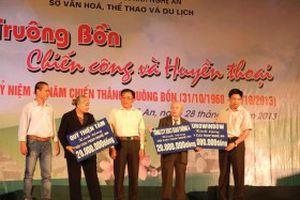 Nhiều hoạt động kỷ niệm 45 năm chiến thắng Truông Bồn