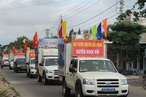 Ra quân tuyên truyền lưu động 'Biên giới và biển, đảo Việt Nam'