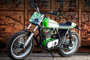 Yamaha SR500 độ phong cách Flat Tracker tuyệt đẹp
