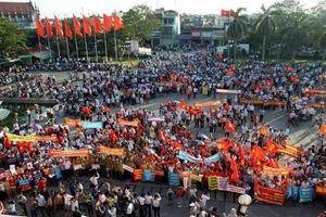 Tung tin đồn thất thiệt, kích động biểu tình tại Hải Phòng