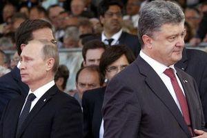 Tổng thống Nga, Ukraine 'chạm trán' nhau ở Minsk