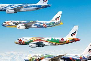 Những chiếc máy bay sặc sỡ nhất thế giới