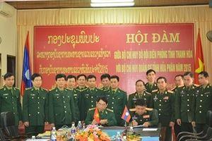 Hội đàm giữa Bộ Chỉ huy BĐBP Thanh Hóa và Bộ Chỉ huy Quân sự tỉnh Hủa Phăn, Lào